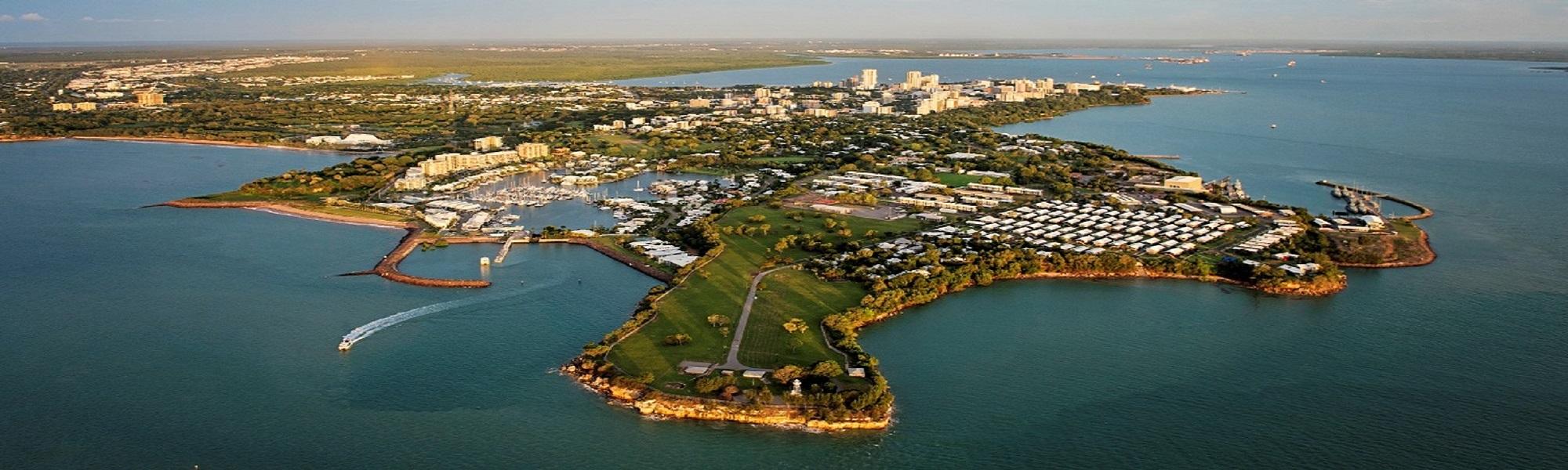 Aerial, Darwin City